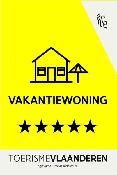 vakantiewoning-erkenningsschild-5-sterren